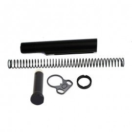 AR15 AR RECEIVER EXTENSION KIT BUFFER TUBE KIT MIL-SPEC WZ DUAL LOOP ENDPLATE