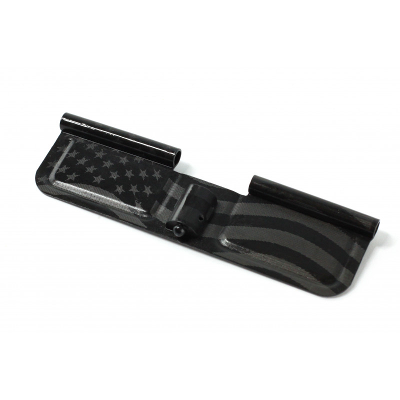AR-15 Ejection Port Dust Cover Complete Assembly America Flag