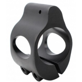 AR Skeletonized Gas Block CLAMP-ON Low Profile .750 DIA Black