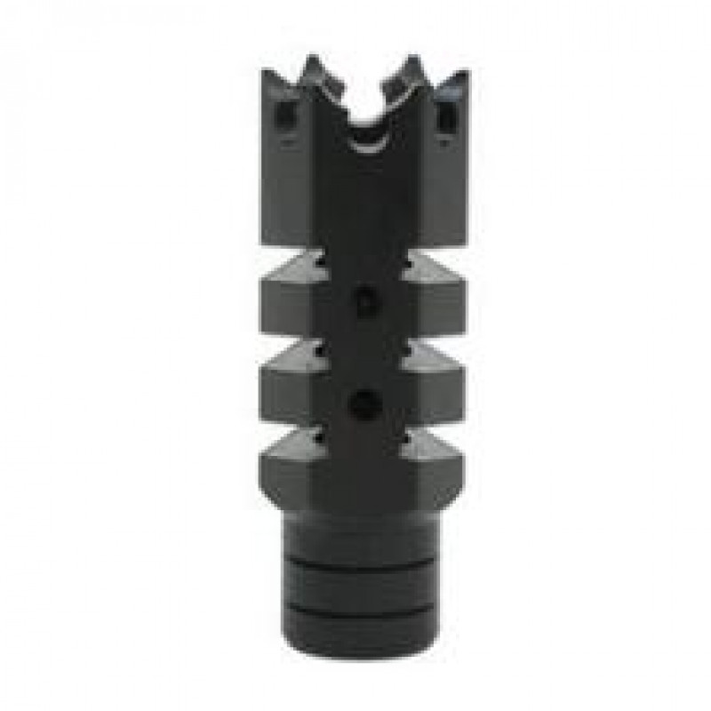 "AR 308 Shark Muzzle Brake 5/8""X24 Pitch Thread w/ Crush Washer"