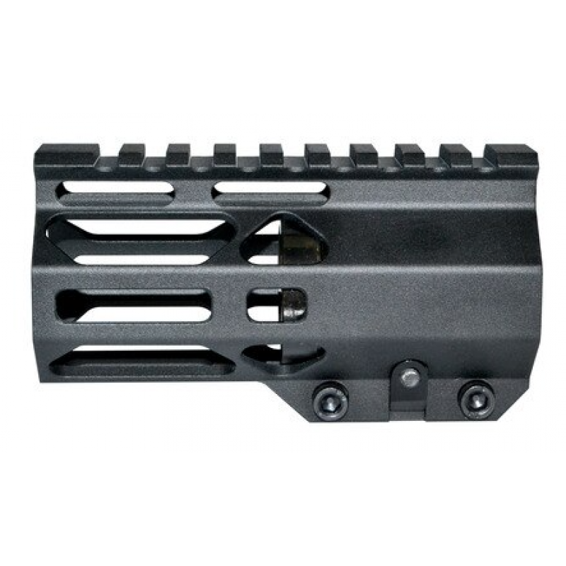 "AR15  4 1/4"" STS M-lok Free Float Handguard,with Steel Nut"
