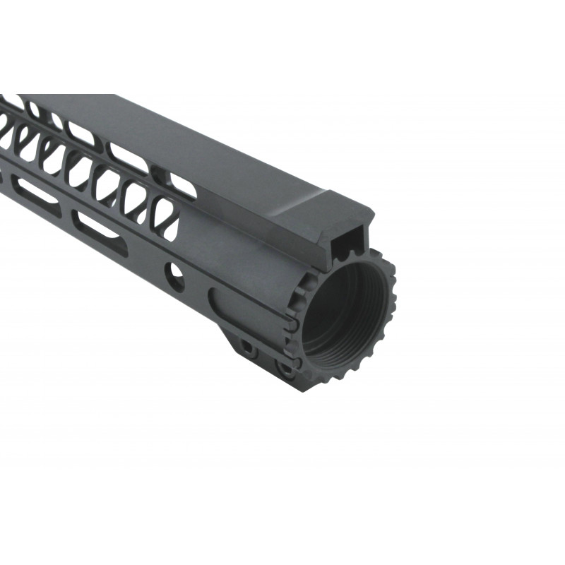 "AR15 MTG Cut top Slim M-LOK 15"" Free Float Handguard"
