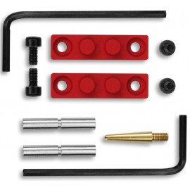TacBrick Anti rotation pins for Hammer and Trigger  .154 Red